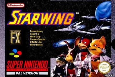 Starwing, op de cover van de allereerste Power Unlimited