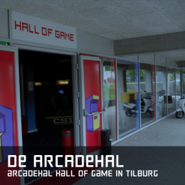 De arcadehal arcadehal hall of game tilburg
