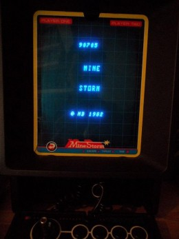highscores mine storm vectrex