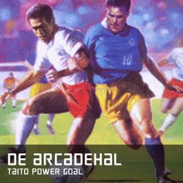 De arcadehal Taito Power Goal