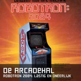 De arcadehal robotron 2084 lastig oneerlijk