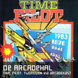 De arcadehal time pilot tijdreizen arcadekast