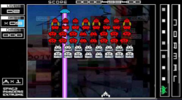 space invaders extreme psp