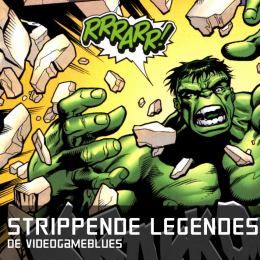 Strippende legendes de videogameblues