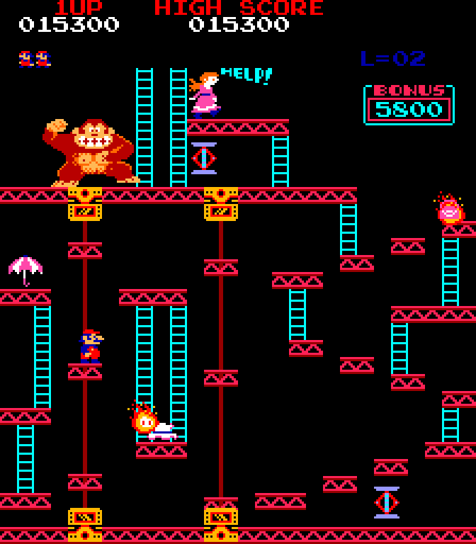 Donkey Kong door jonge Shigeru Miyamoto