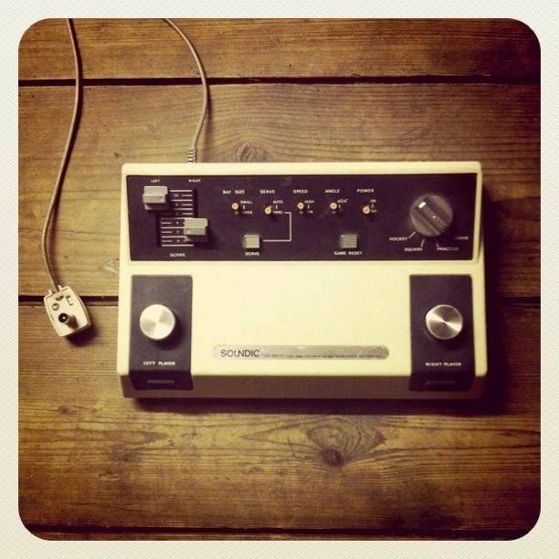 Soundic TV sports console retrospectief