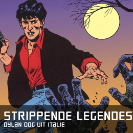 Strippende legendes dylan dog uit italie