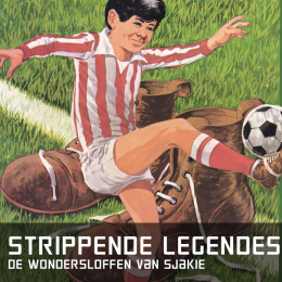 Strippende legendes de wondersloffen van sjakie
