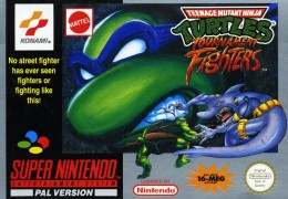Teenage Mutant Hero Turtles Tournament Fighters review SNES