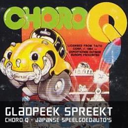 Gladpeek spreekt choroq japanse speelgoedautos