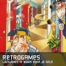 Retrogames lazy jones is waar voor je geld