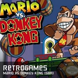 Retrogames mario vs donkey kong gba