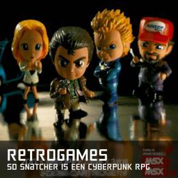 Retrogames sd snatcher is een cyberpunk rpg