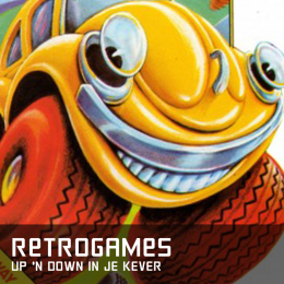 Retrogames up'n down in je kever