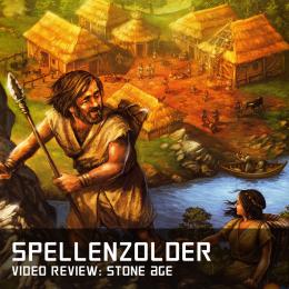 Spellenzolder video review van stone age