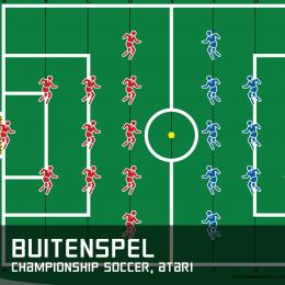 Buitenspel championship soccer atari