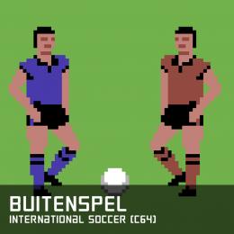 Buitenspel international soccer c64