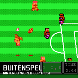 Buitenspel nintendo world cup nes