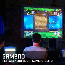 Gamend het weekend door gamers unite