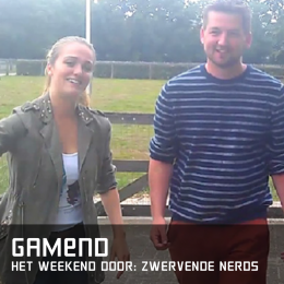 Gamend het weekend door zwervende nerds