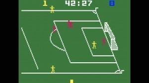 De Mattel Intellivision was destijds heer en meester op het gebied van sportgames. Atari liep op dit gebied achter.
