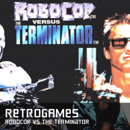 Retrogames robocop vs the terminator