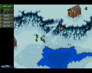 Je vecht ook in sneeuw- en woestijnlevels.