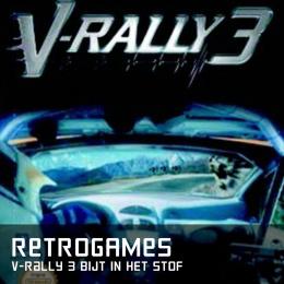 Retrogames v-rally 3 bijt in het stof