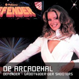 De arcadehal defender de grootvader der shooters