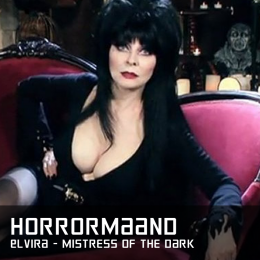 Horrormaand Elvira Mistress of the Dark