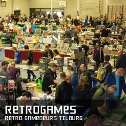retrogame retro gamebeurs tilburg