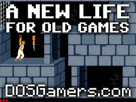Speel oude spellen op je nieuwe computer: DOSGamers.com!