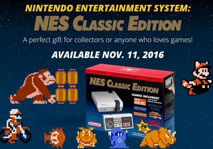 NES Mini release