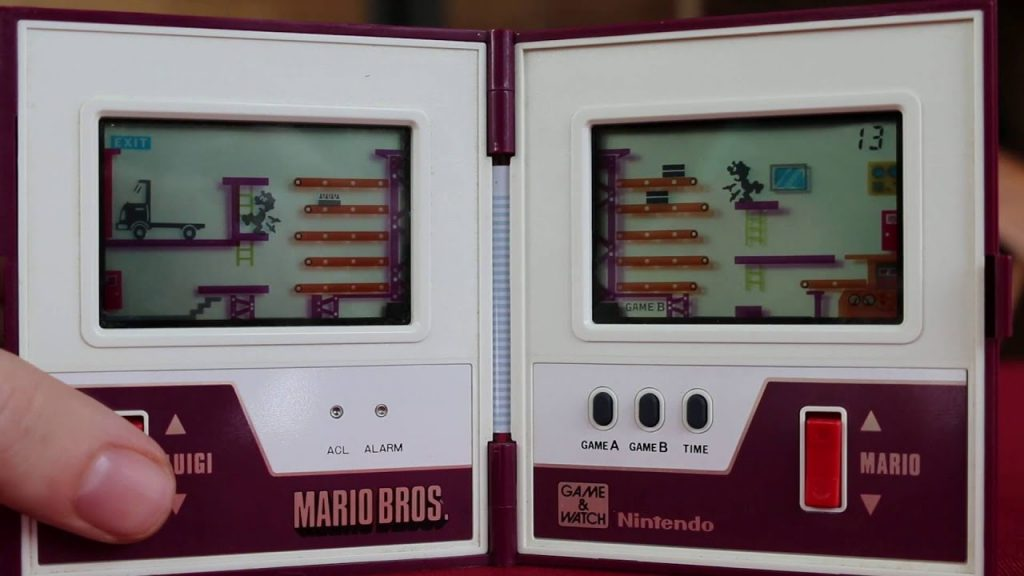 Game & Watch: Mario Bros. - GAMEPLAY - YouTube